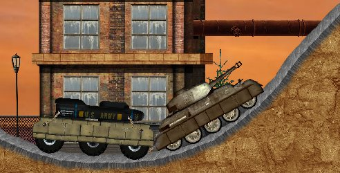 Ретро танки игра of tanks